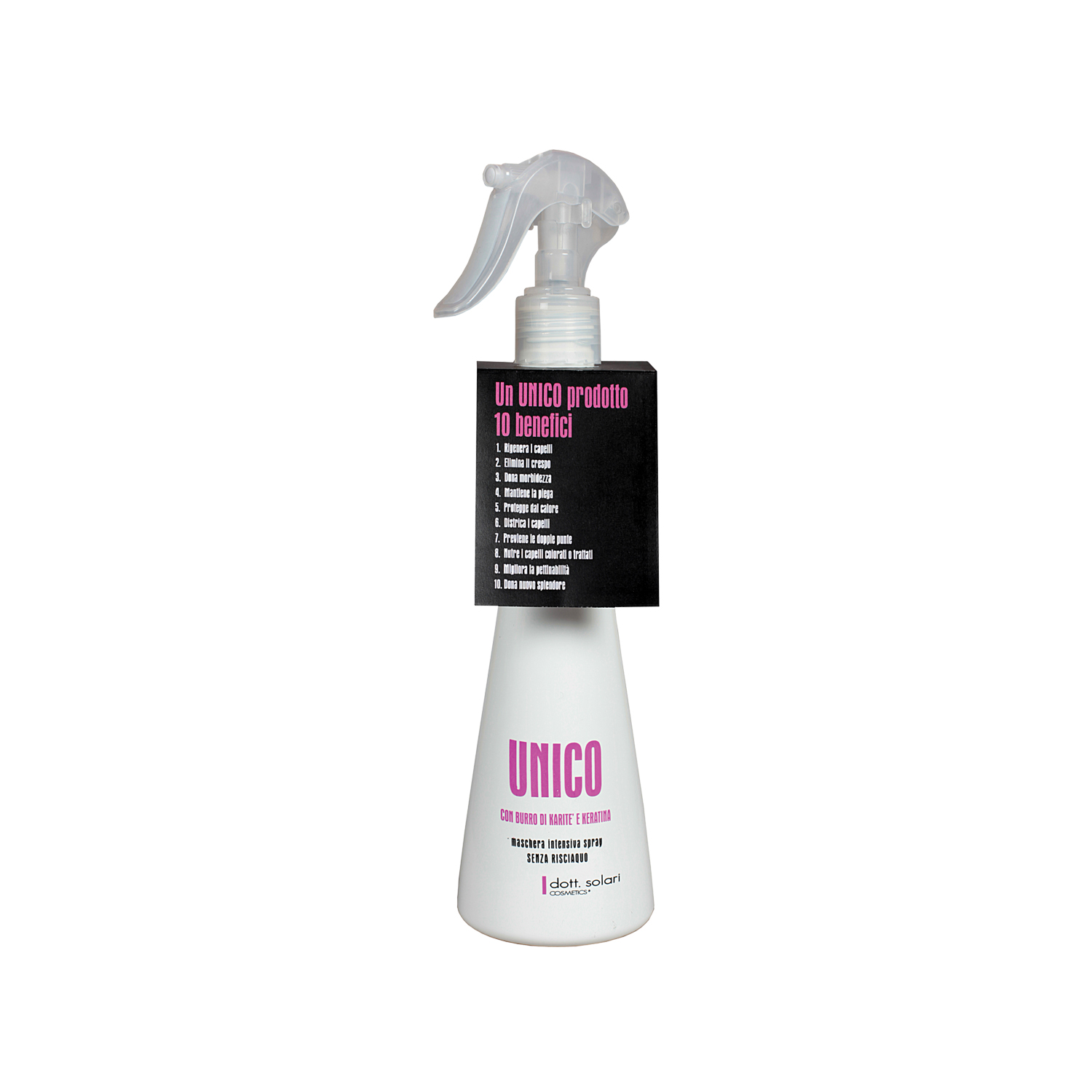 UNICO INTENSIVE SPRAY HAIR MASK 10 IN 1 -200ml