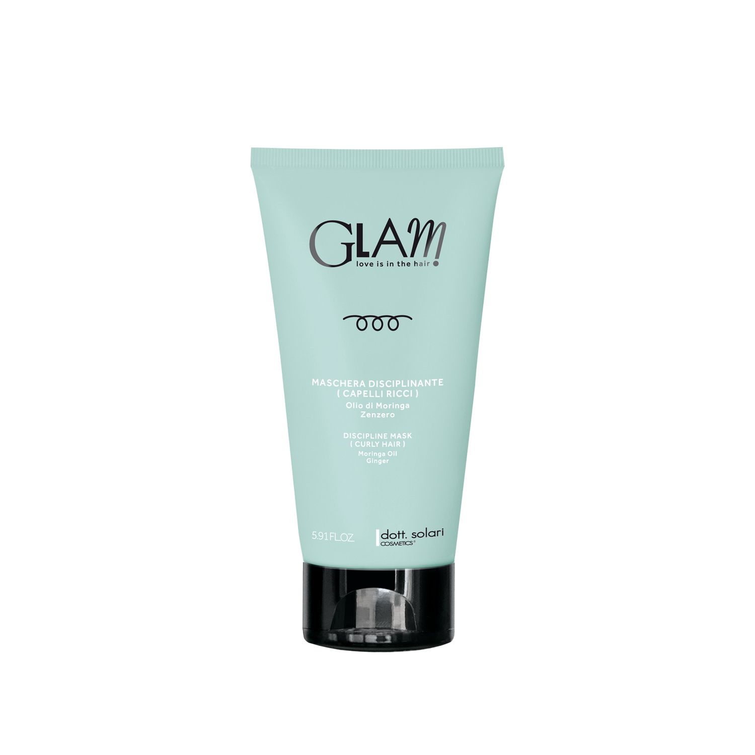 GLAM ΜΑΣΚΑ DISCIPLINE (CURLY HAIR) -175ml