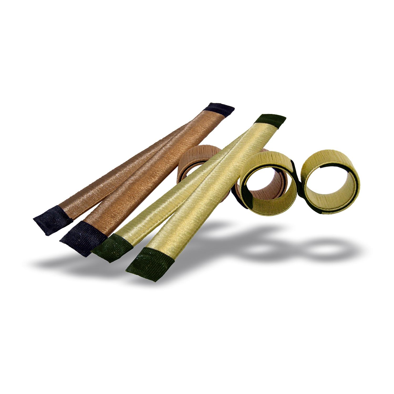 Hair salon cosumables hair bun maker double brown 20304g thecheapjerseys Gallery